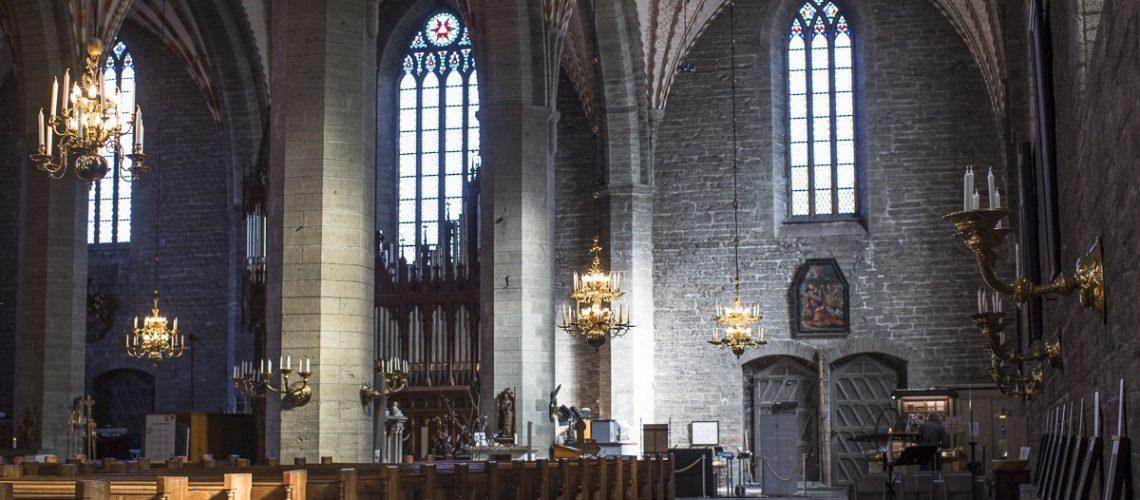 Anna Nordström i Klosterkyrkan Vadstena